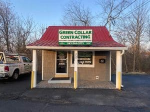 green-collar-contracting-showroom-Middletown Orange County NY