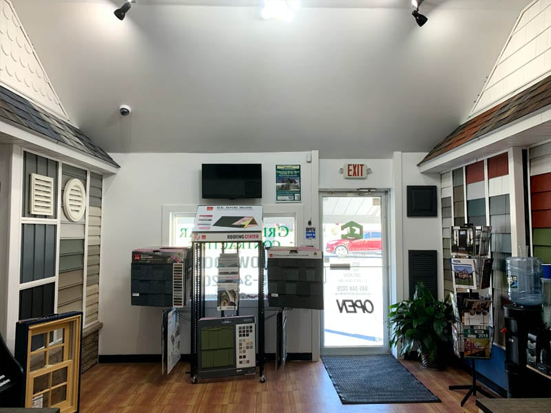 green-collar-contracting-showroom Middletown NY